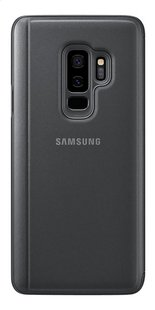 Samsung foliocover Galaxy S9+ Clear stand view noir-Arrière