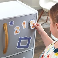 KidKraft cuisine en bois Mosaic Magnetic Play-Image 5
