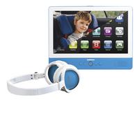 Lenco lecteur DVD portable tablette TDV-900 9' bleu