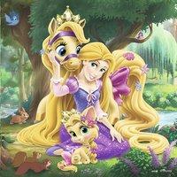 Ravensburger puzzle 3 en 1 Disney Princess Belle, Cendrillon et Raiponce-Avant