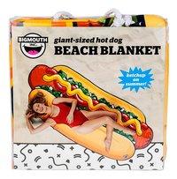 BigMouth handdoek Hot Dog Beach Blanket B 94 x L 216 cm-Vooraanzicht