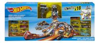 Hot Wheels set de jeu Nitrobot Attack 18 voitures