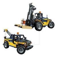 LEGO Technic 42079 Robuuste vorkheftruck-Vooraanzicht