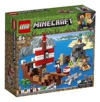 LEGO Minecraft 21152 Avontuur op het piratenschip-Linkerzijde