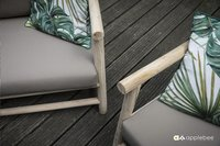 Apple Bee tuinzetel Rooty Love Seat teak-Artikeldetail