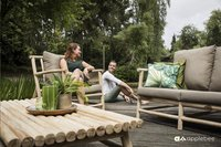 Apple Bee tuinzetel Rooty Love Seat teak-Afbeelding 3