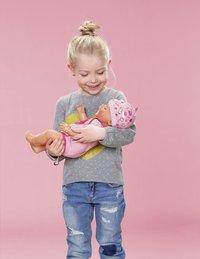 BABY born interactieve pop Soft touch Meisje roze 43 cm-Afbeelding 5