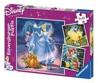 Ravensburger 3-in-1 puzzel Prinsessen-Vooraanzicht
