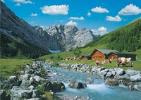 Ravensburger puzzel Karwendelgebergte, Oostenrijk