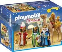 Playmobil Christmas 5589 3 koningen met cadeaus-Vooraanzicht