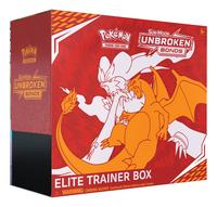 Pokémon Trading Cards Sun & Moon 10 Elite Trainer Box ANG-Côté gauche