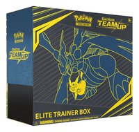Pokémon Trading Cards Sun & Moon 9 Elite Trainer Box ANG-Côté gauche