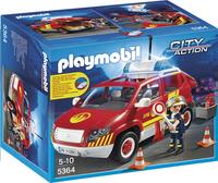 Playmobil City Action 5364 Véhicule d'intervention avec sirène-Avant