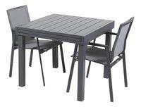 Ensemble de jardin Modulo/Bondi anthracite - 2 chaises-Avant