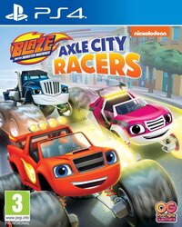 PS4 Blaze and the Monster Machines: Axle City Racers NL/FR