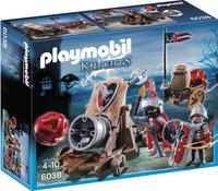 Playmobil Knights 6038 Chevaliers de l'Aigle avec canon géant-Avant