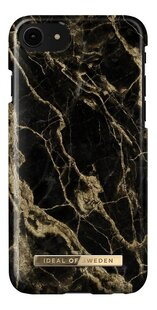 iDeal of Sweden coque iPhone 6/6s/7/8/SE Golden Smoke Marble