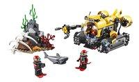 LEGO City 60092 Diepzee Duikboot-Vooraanzicht