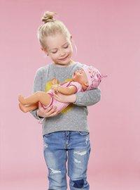 BABY born interactieve pop Soft touch Meisje roze 43 cm-Afbeelding 8