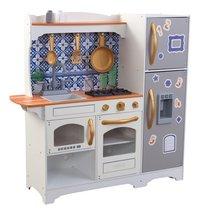 KidKraft cuisine en bois Mosaic Magnetic Play-Côté gauche