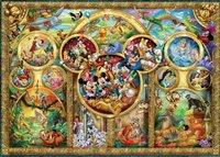 Ravensburger puzzel Disney familie-Vooraanzicht