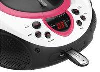 Lenco radio/lecteur CD portable SCD-38 rose-Détail de l'article
