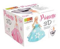 ScrapCooking bakvorm 3D-prinses-Linkerzijde