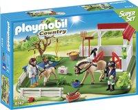 Playmobil SuperSet 6147 Eerste hulp in de stal