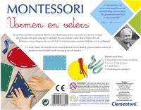 Montessori - Vormen en veters-Achteraanzicht