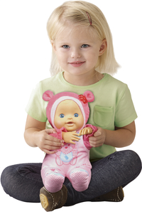 VTech interactieve pop Little Love Kiekeboe baby roze NL-Image 1