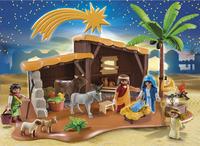 Playmobil Christmas 5588 Grote kerststal-Afbeelding 1