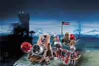 Playmobil Knights 6038 Chevaliers de l'Aigle avec canon géant-Image 1