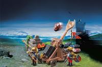 Playmobil Knights 6039 Chevaliers du Lion Impérial avec catapulte-Image 1