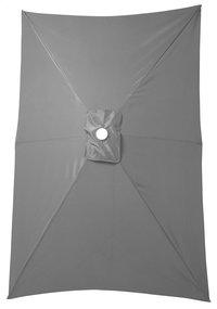 Aluminium parasol 2 x 3 m grijs-Artikeldetail