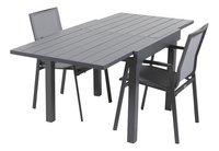 Ensemble de jardin Modulo/Bondi anthracite - 2 chaises-Détail de l'article