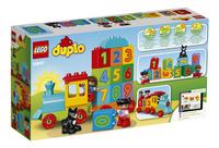 LEGO DUPLO 10847 Le train des chiffres-Arrière