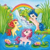 Ravensburger 3-in-1 puzzel Pony's in sprookjesland-Artikeldetail