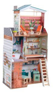 KidKraft maison de poupées en bois Marlow - H 112 cm-Côté gauche