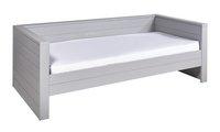Canapé-lit Dennis gris béton-Avant