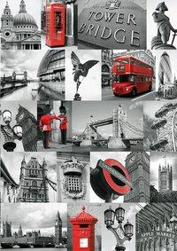 Ravensburger puzzel Londen-Vooraanzicht