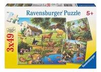 Ravensburger puzzle 3 en 1 Animaux