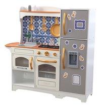 KidKraft cuisine en bois Mosaic Magnetic Play-Côté droit