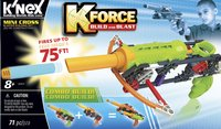 K'nex K-Force Build and Blast Mini Cross-Vooraanzicht