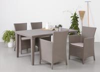 Keter Allibert table de jardin Futura cappuccino 165 x 94 cm-Détail de l'article