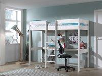 Vipack lit mezzanine/bureau Oliver-Image 1