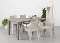 Keter Allibert table de jardin Futura cappuccino 165 x 94 cm-Image 2