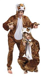 Verkleedpak tijger volwassenen-Vooraanzicht