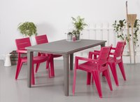 Allibert table de jardin Futura cappuccino 165 x 94 cm-Image 3