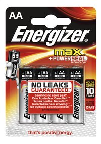 Energizer Max pile AA - 4 pièces