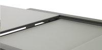 Verlengbare tuintafel Sevilla lichtgrijs/antraciet 220 x 106 cm-Artikeldetail